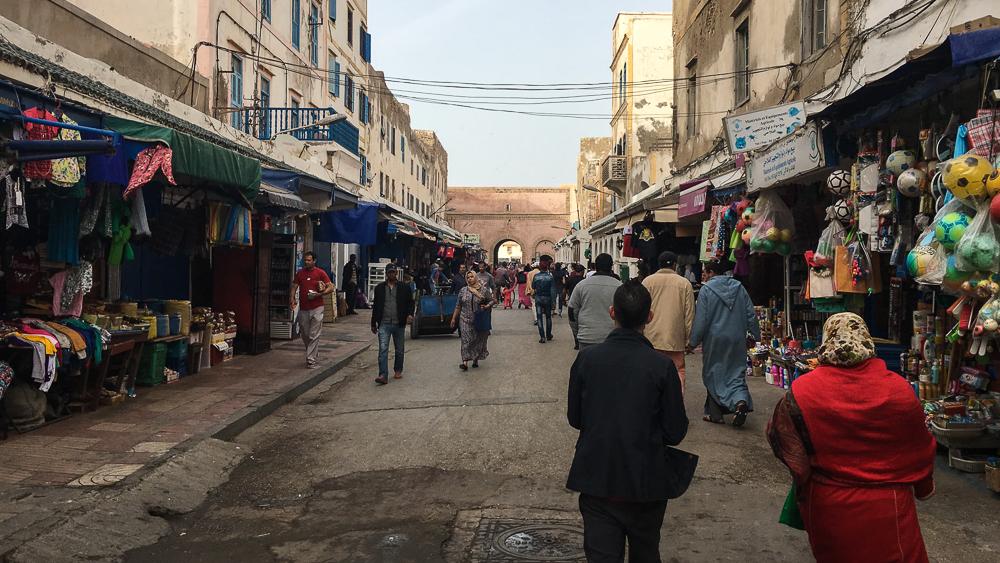 Essaouira, Morocco - Market