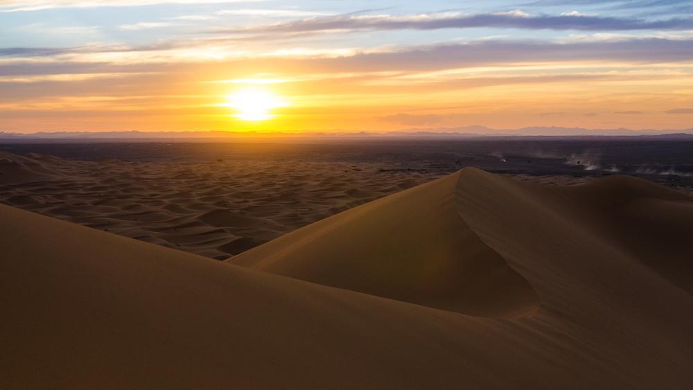 Merzouga, Morocco - Sunset