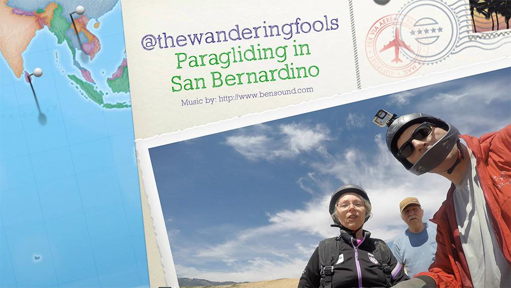 Parents Tandem Paragliding